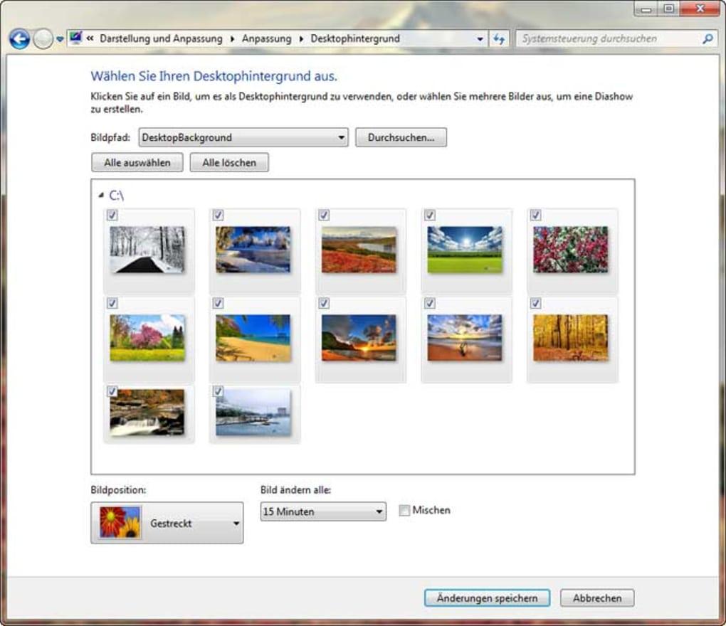 kalender windows 7