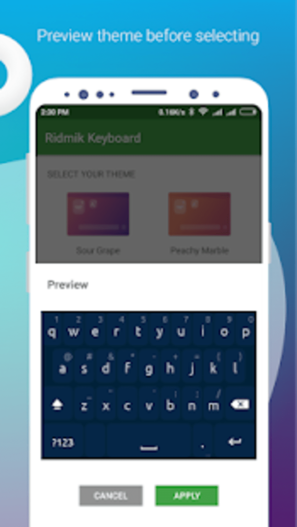 Ridmik Classic Keyboard for Android - Download