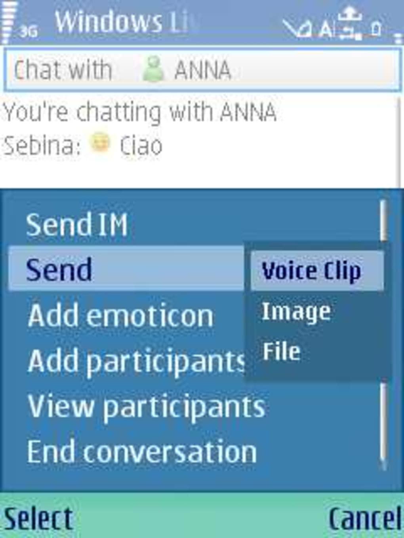 windows live messenger téléchargement gratuit pour BlackBerry