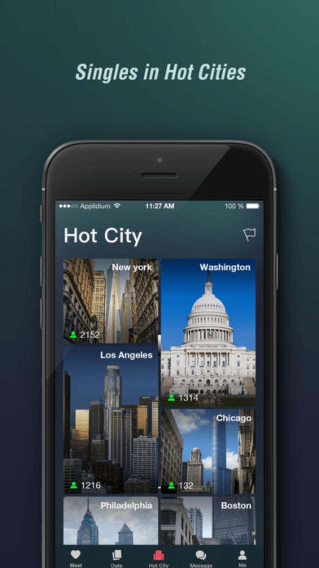 App für iPhone-Hookup