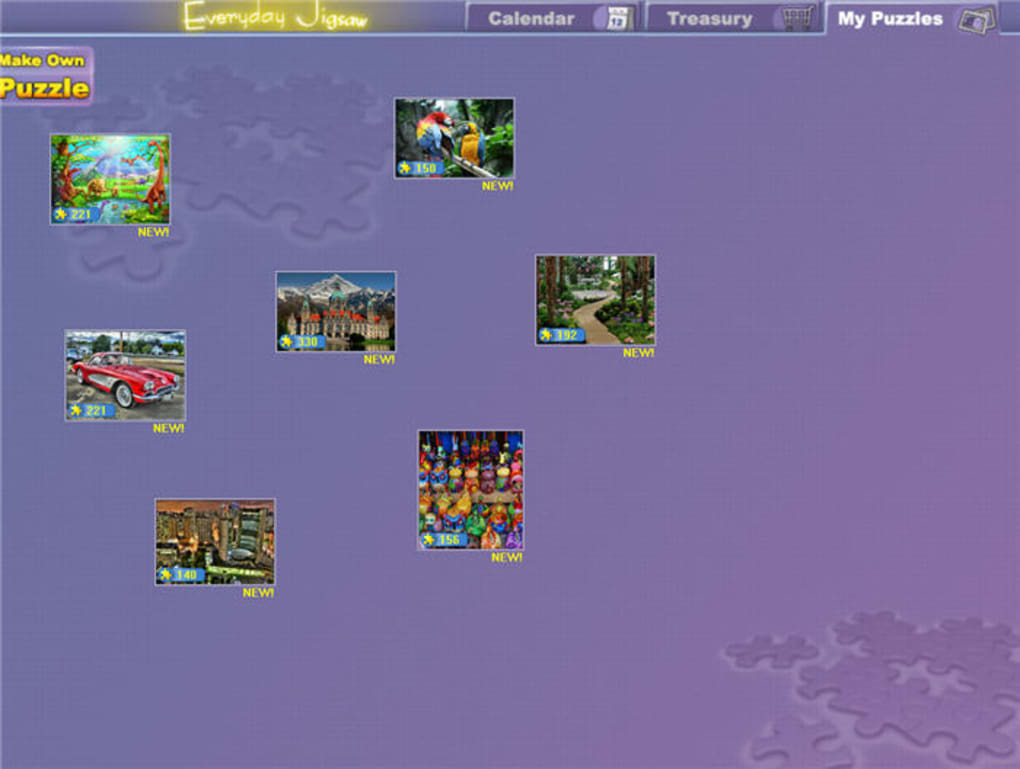 Everyday jigsaw on the mac app store.