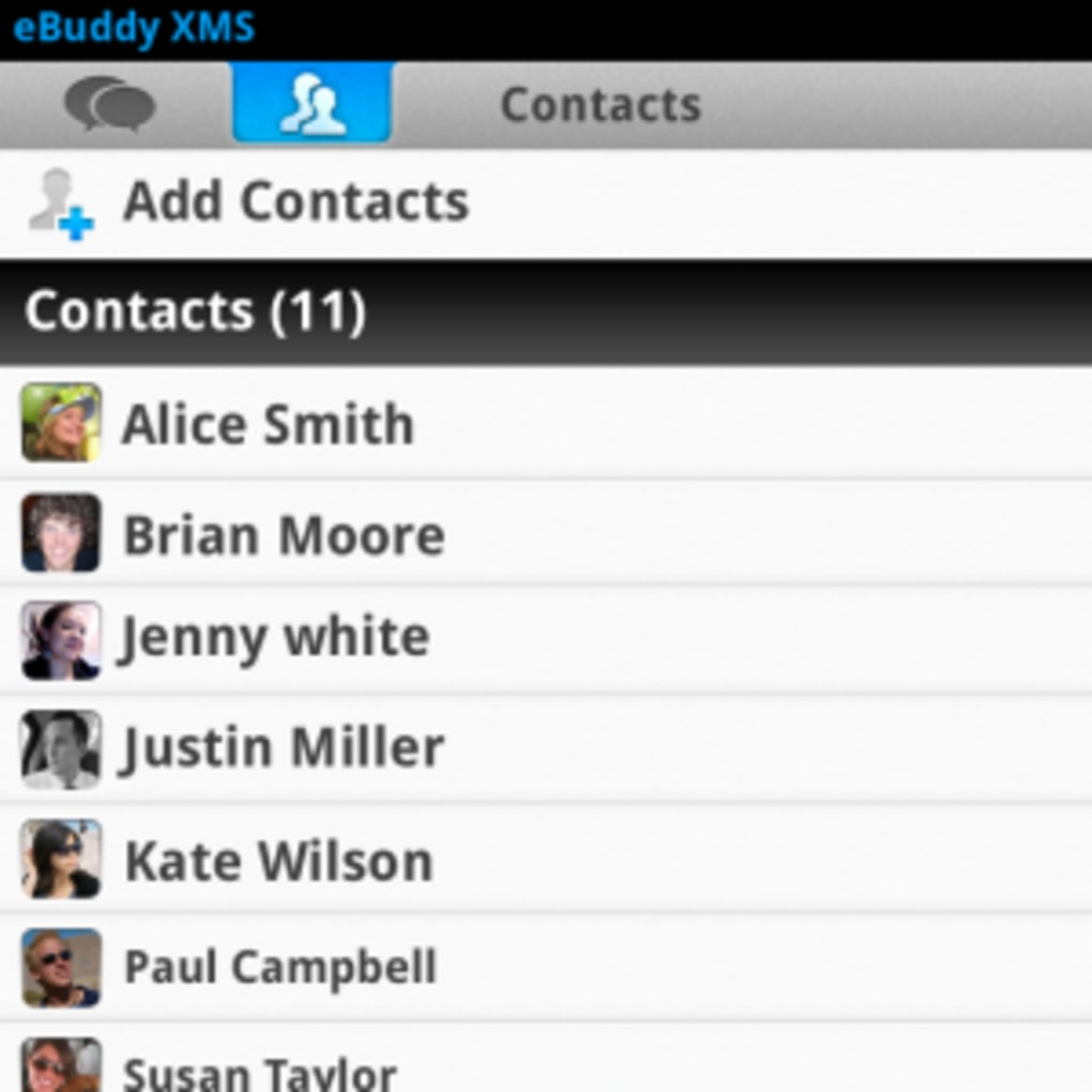 ebuddy per blackberry