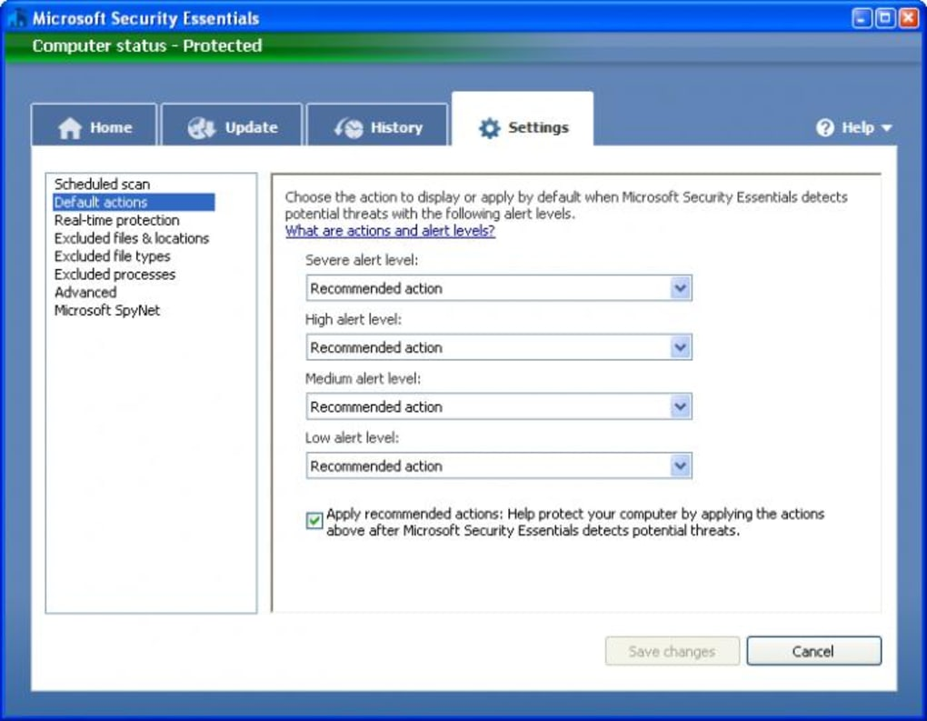 Microsoft Security Essentials - Download