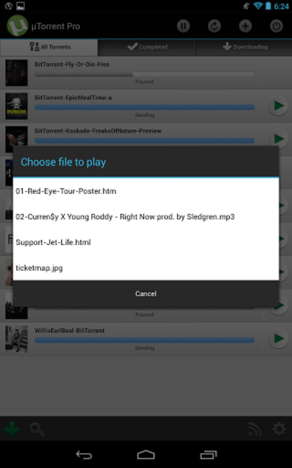 utorrent pro free download android