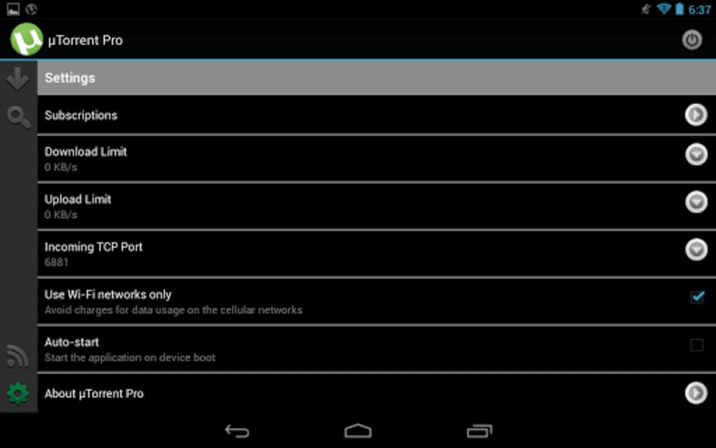 µTorrent® Pro para Android - Descargar