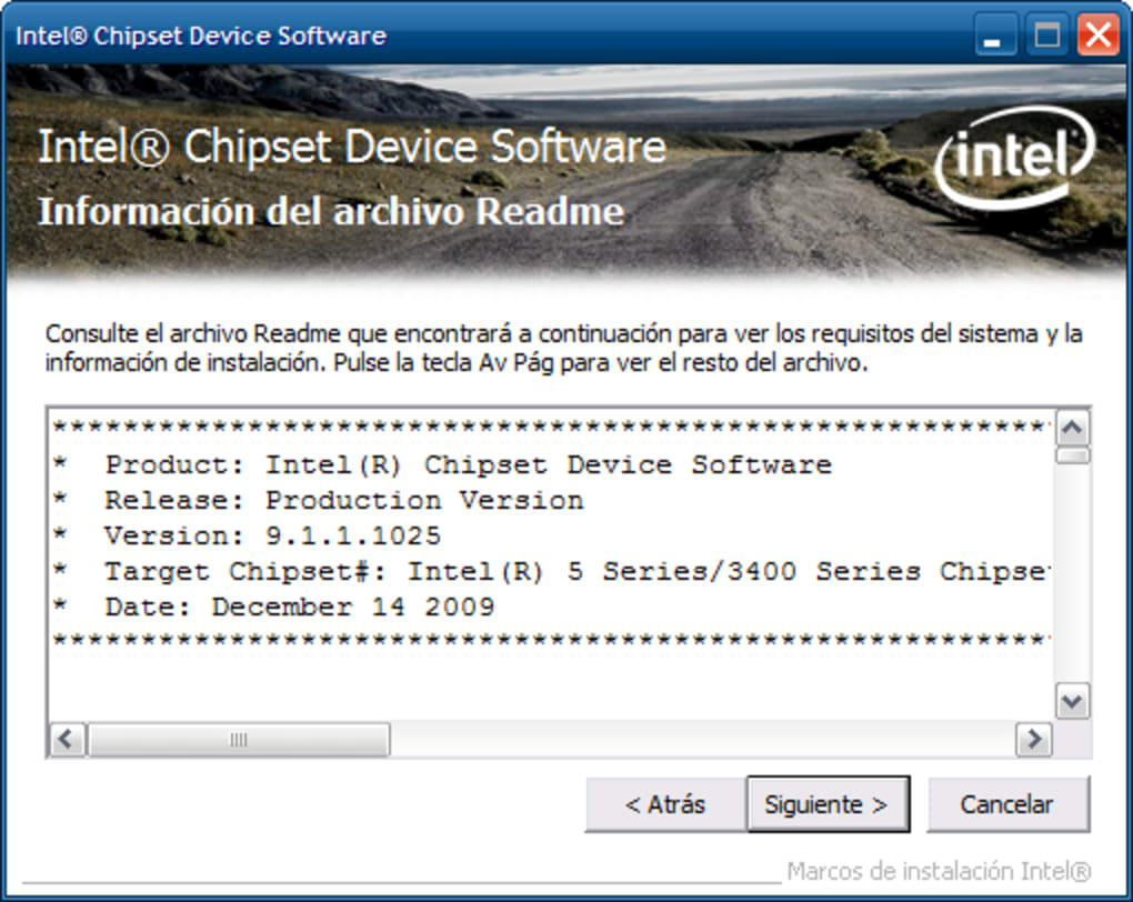 driver download chipset intel