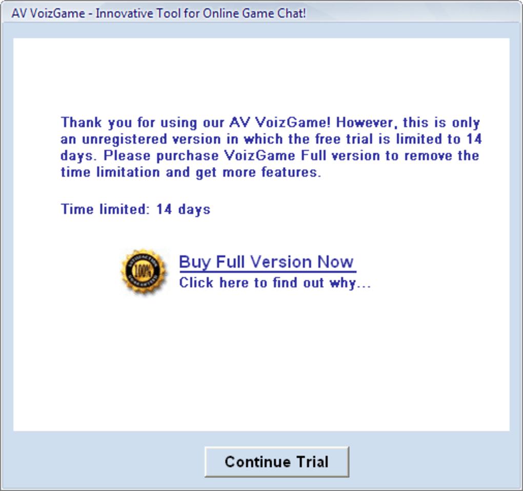 av voizgame 6.0.32 gratis espaol full