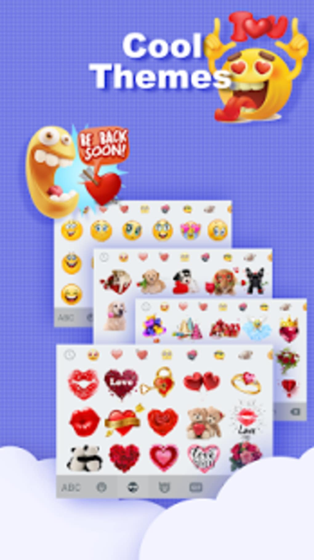 Emoji Keyboard - Cute Emoticons