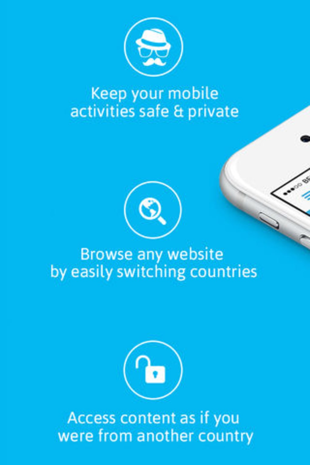 Hola Privacy VPN App & Browser for iPhone - Download