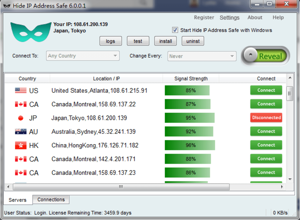 Download hide my ip address free software for windows and mac pc.