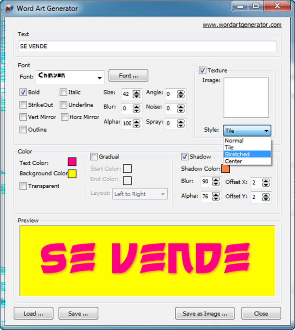 wordart gratis italiano