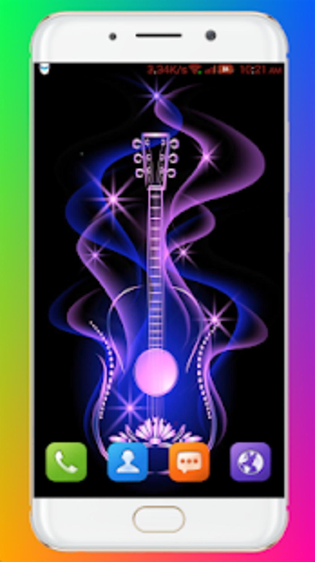 Glowing Wallpaper For Android Download
