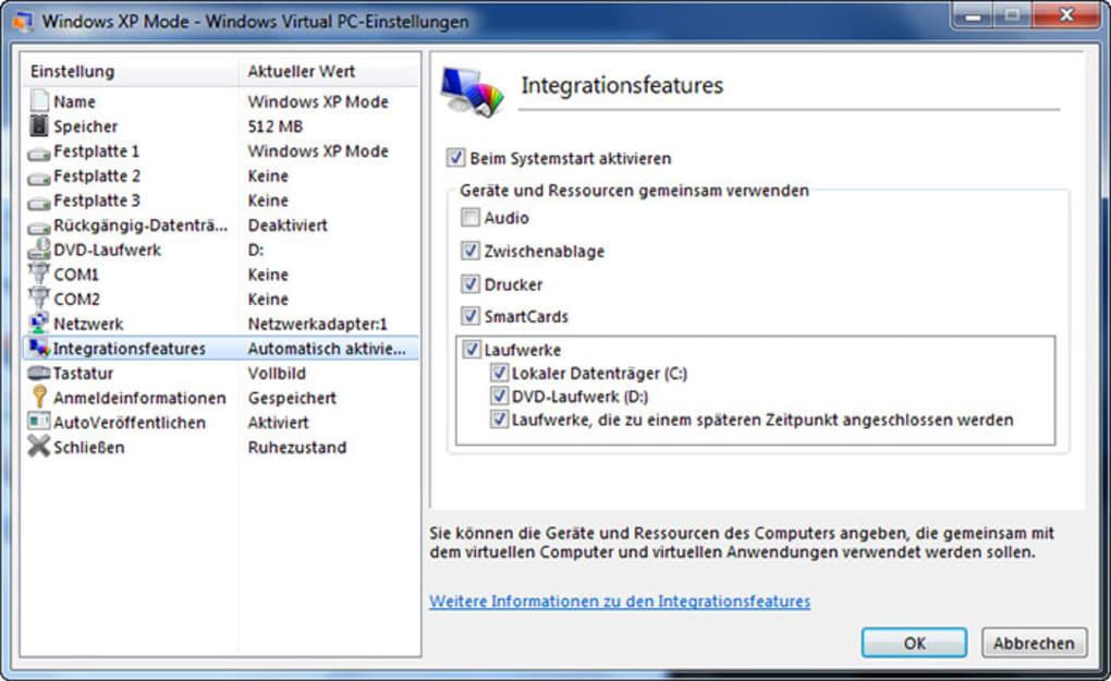 microsoft virtual pc rc 6.1.7234 pour windows 7
