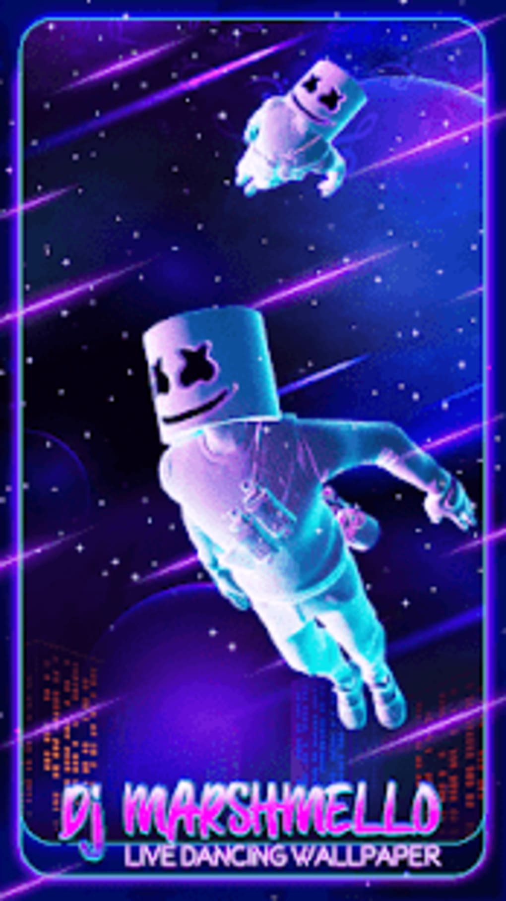 Dj Marshmello Live Dancing Wallpaper For Android Download