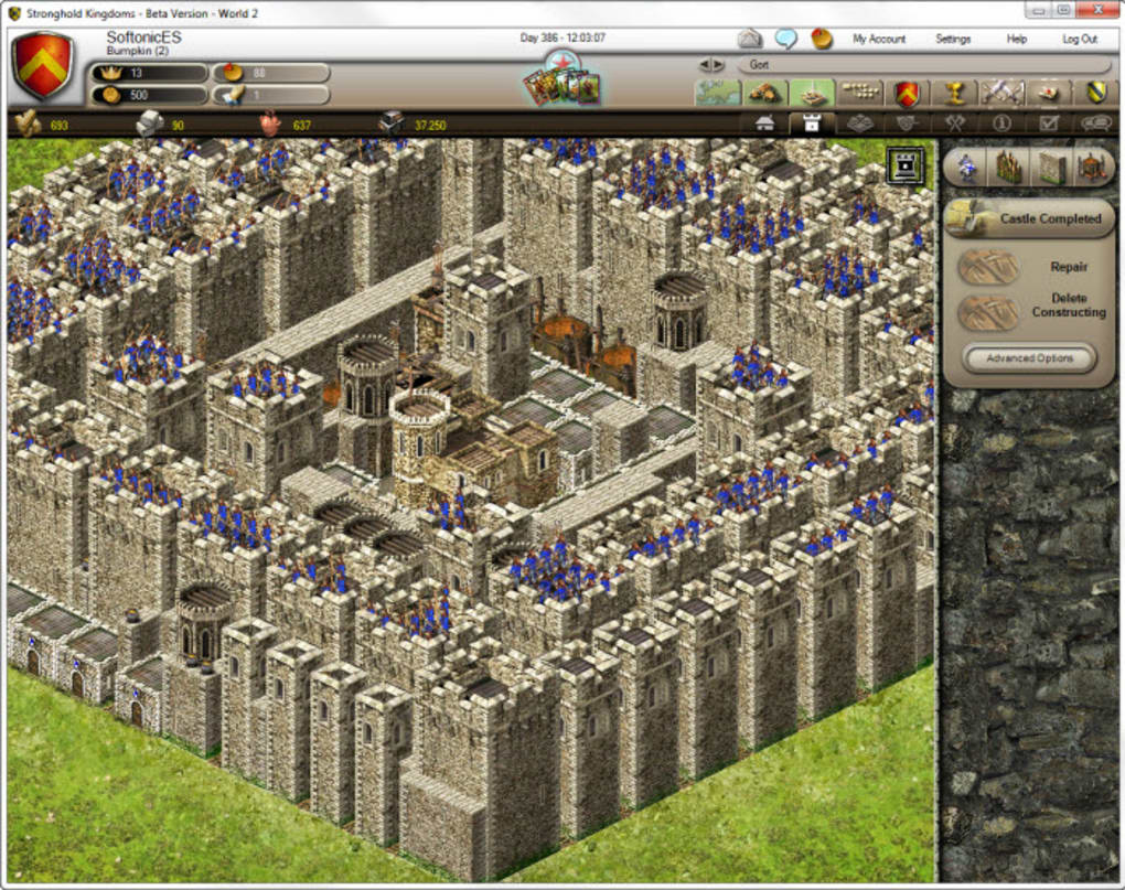 Stronghold kingdoms game review mmos. Com.