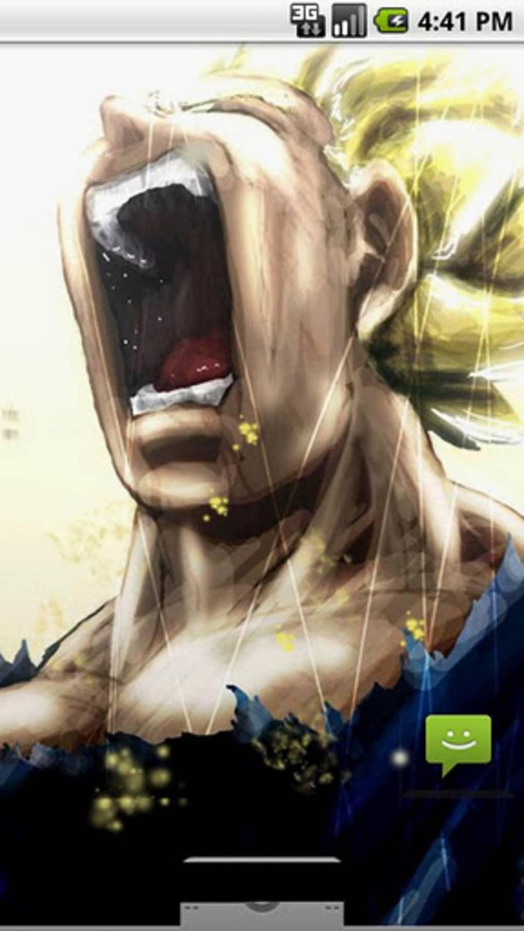 Super saiyan live wallpaper para android descargar - Super saiyan live wallpaper ...