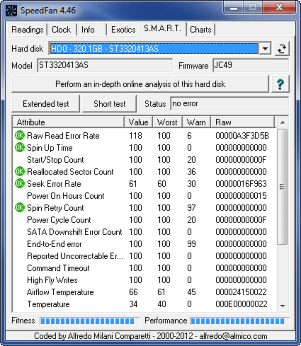 Speedfan Download To Control The Fan Speed Without Switch You D 1 5 Screenshots Pros Allows
