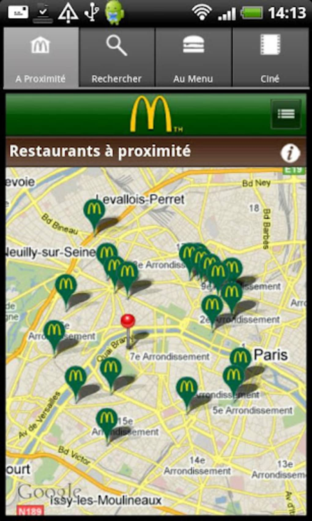 mcdonald u0026 39 s france pour android