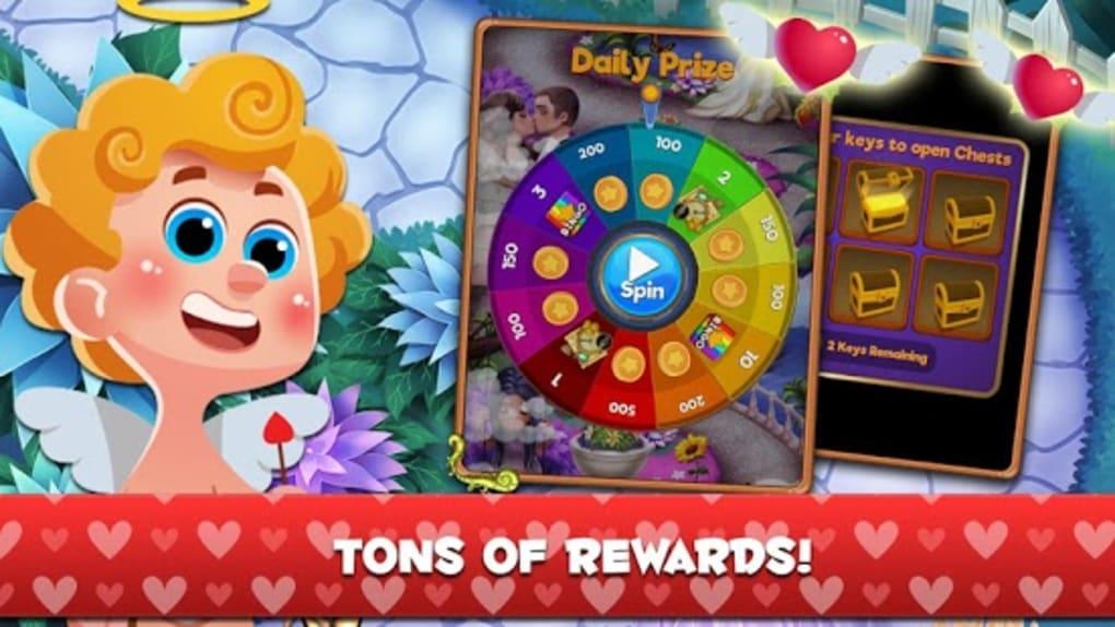 Cupid Bingo Valentines Day Love Story