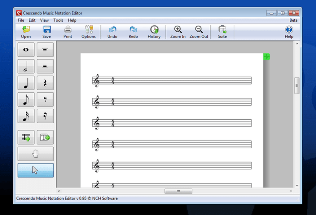 Crescendo Music Notation Descargar