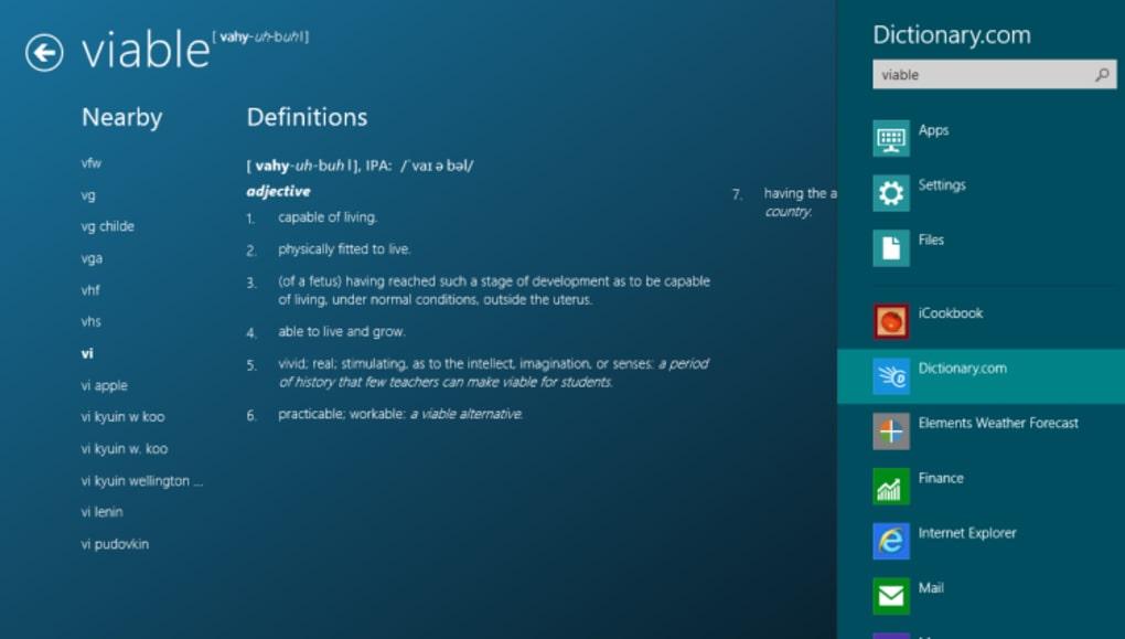 Nous vous remercions d'utiliser notre portail. Le programme est disponible gratuitement sur le site de son éditeur. Merci de bien vouloir utiliser le lien fourni ci-dessous pour accéder au site du développeur, et télécharger légalement Concise Oxford English Dictionary.