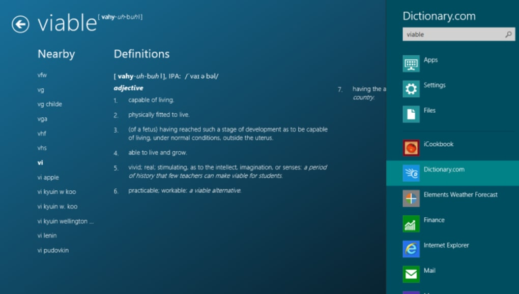 Dictionary com - Download