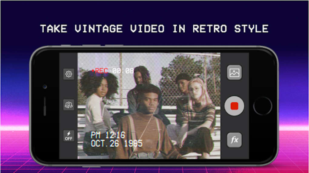 VHS Star Effects - Camcorder Glitch Video Creator for