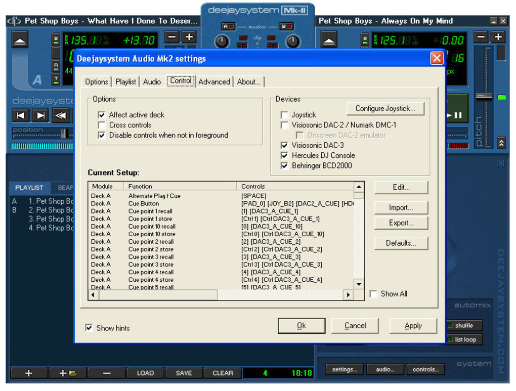 deejaysystem audio mk ii