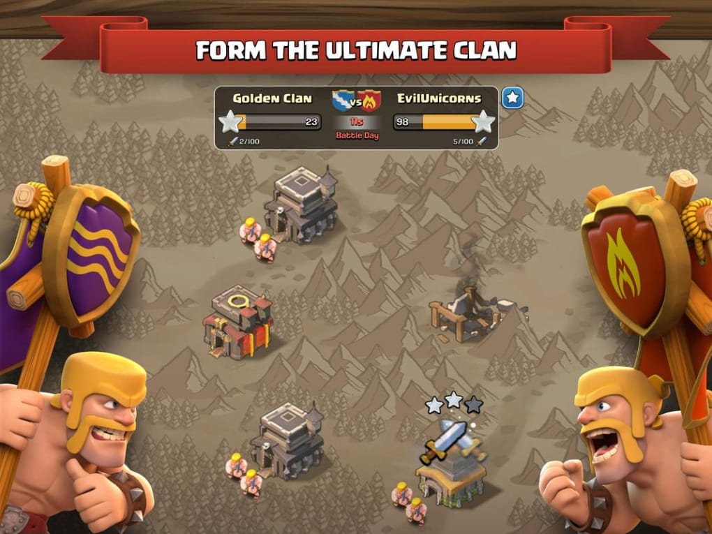 clash of clans app download for pc