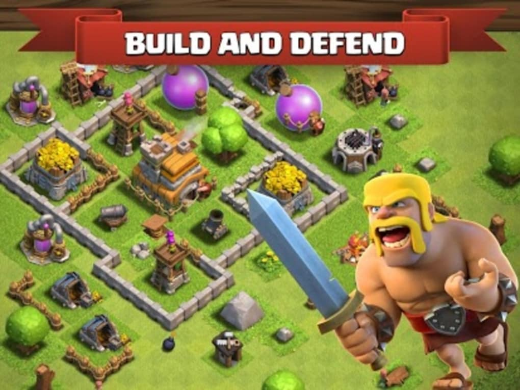 clash of clans for android download