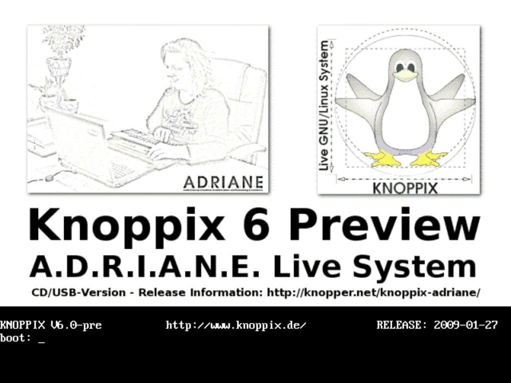CD 5.1.1 LIVE TÉLÉCHARGER KNOPPIX