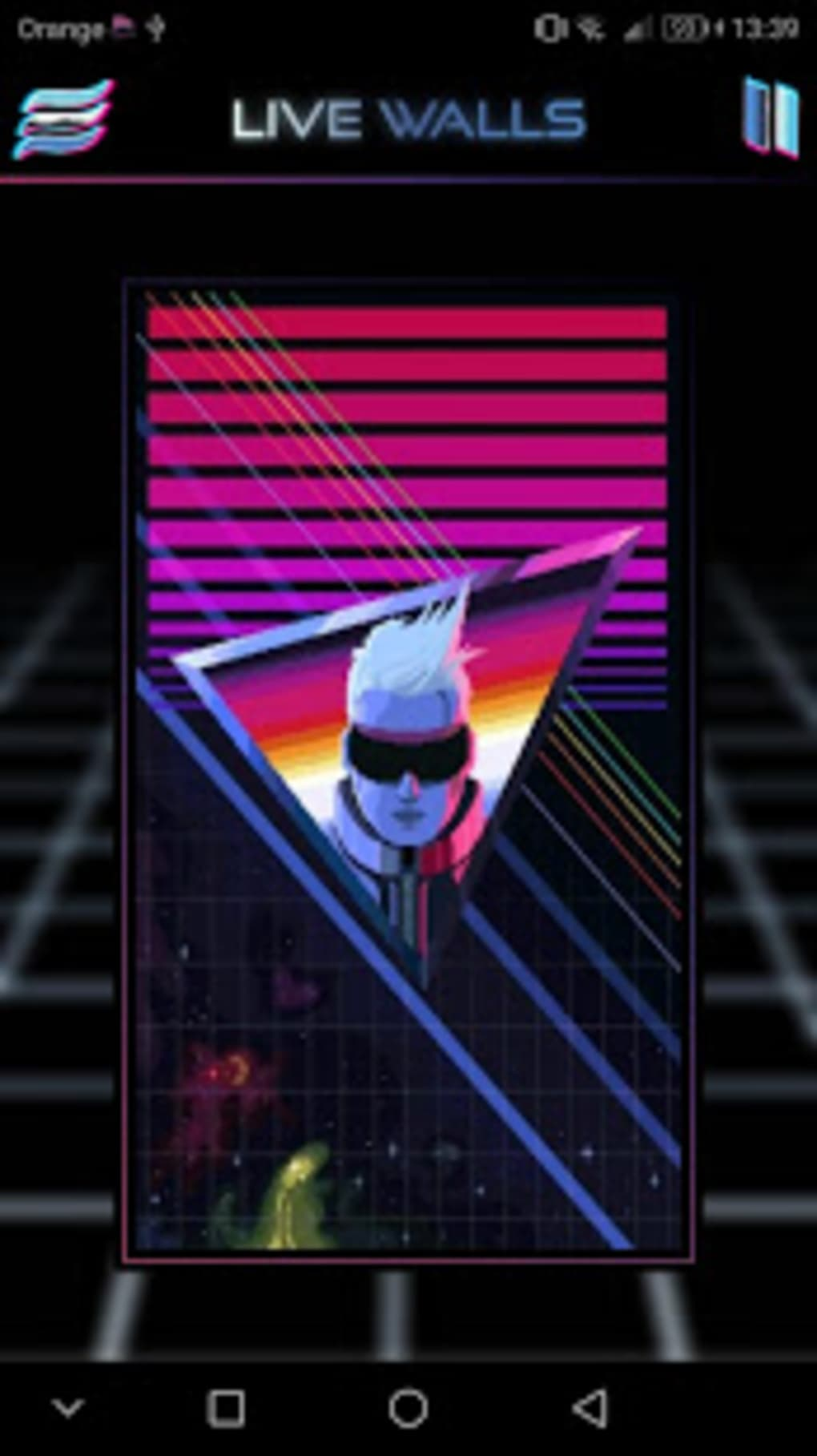 Retrowave Wallpapers - Live WallpapersGIF Radio