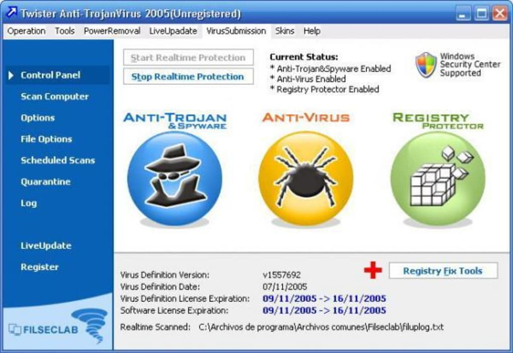 Twister Anti-TrojanVirus - Download