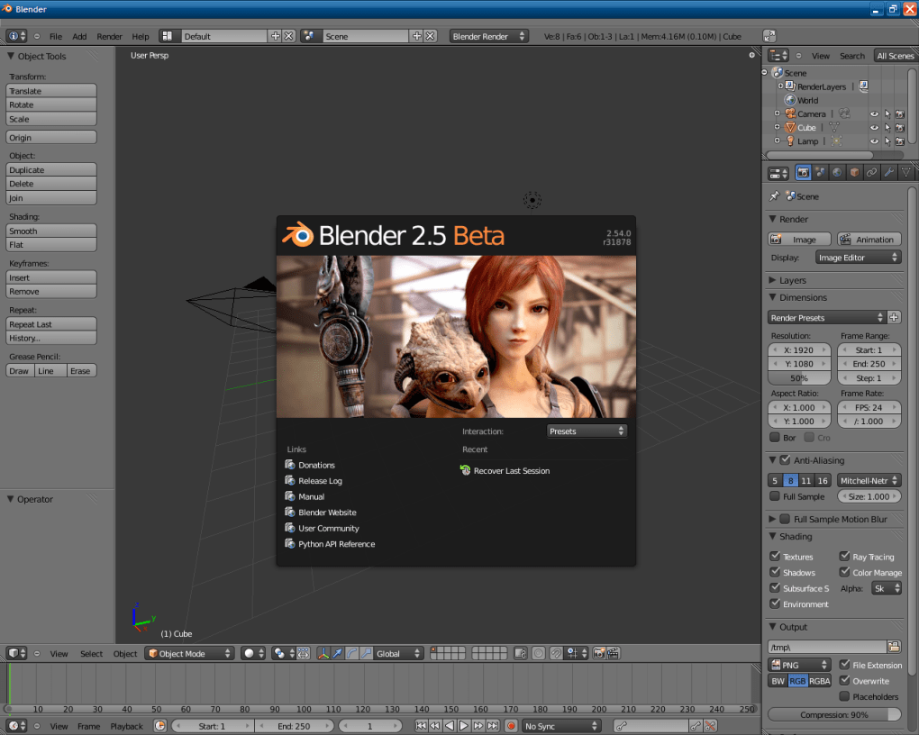 descargar photo blender gratis