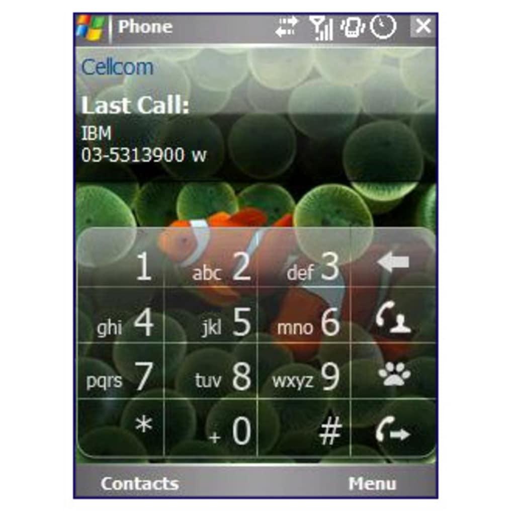 iPhone Phone Pad
