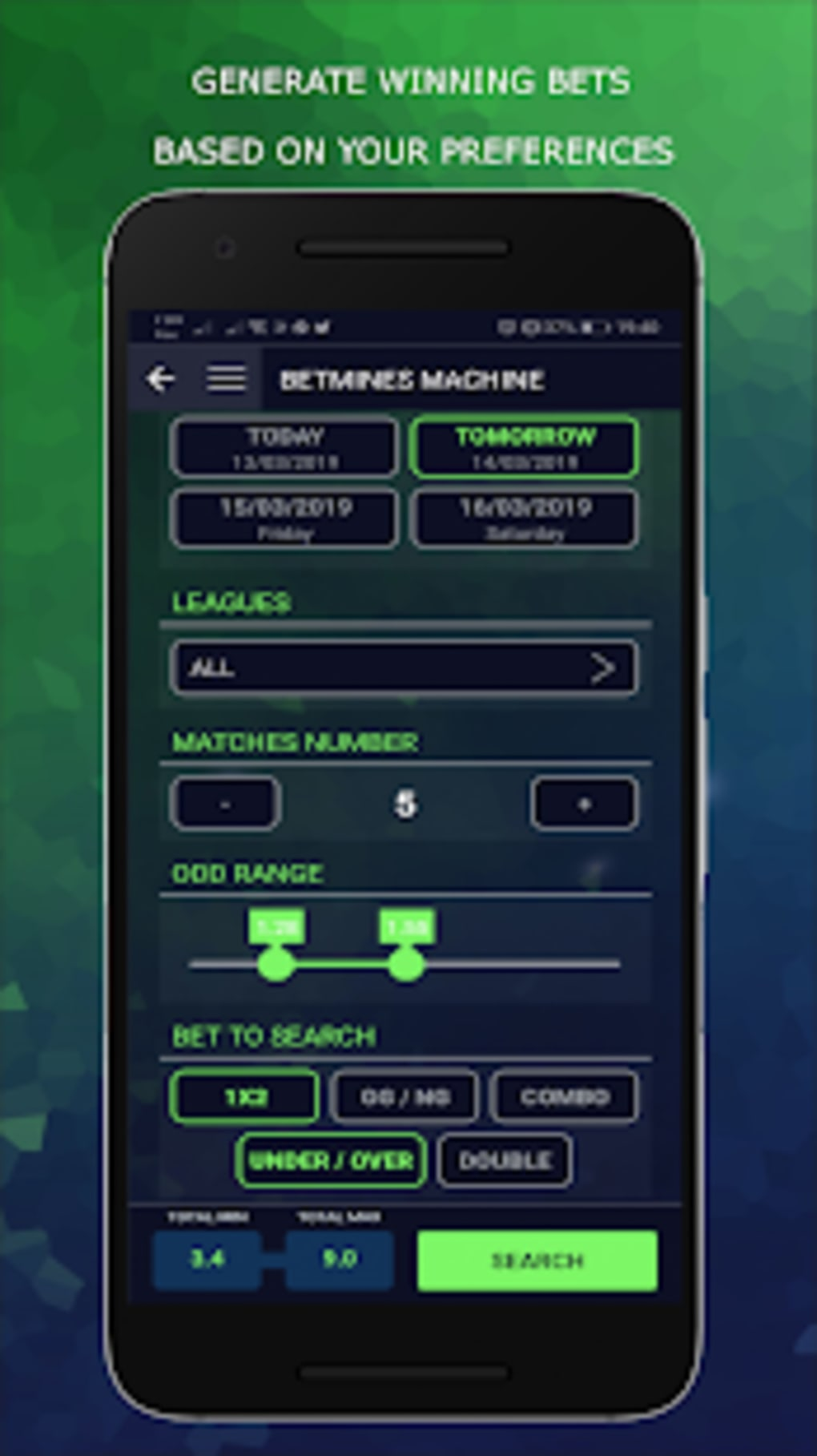 BetMines - Betting Tips Football for Android - Download