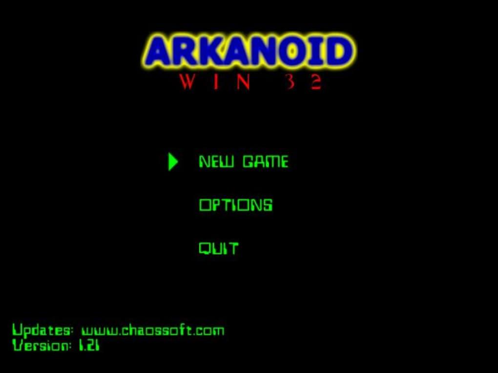 arkanoid gratuit windows 7