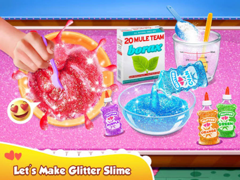 Glitter Slime Maker  Crazy Slime Fun
