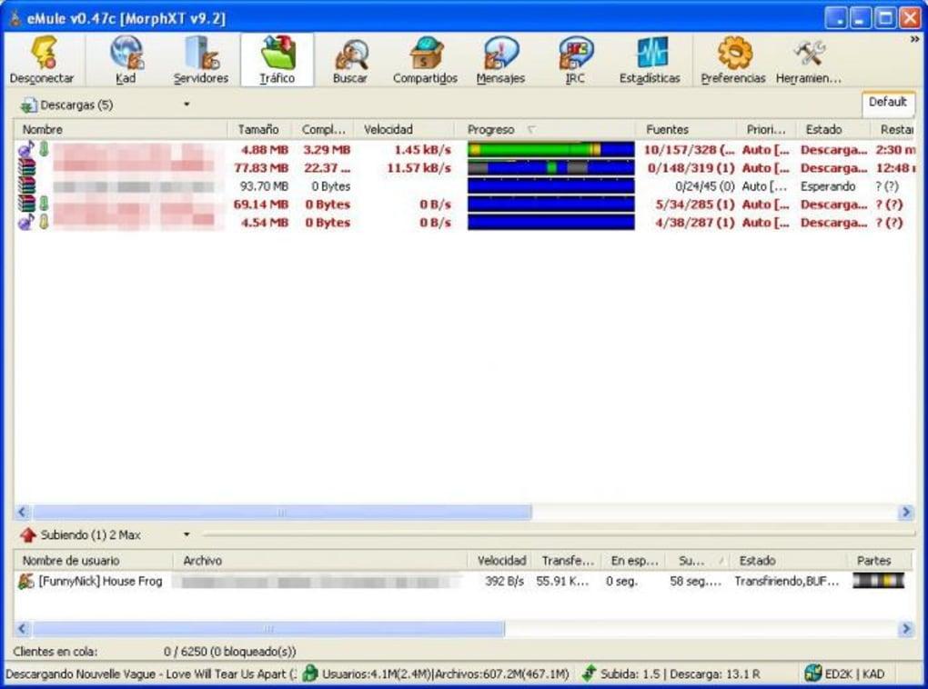 emule morphxt 12.6 gratuit