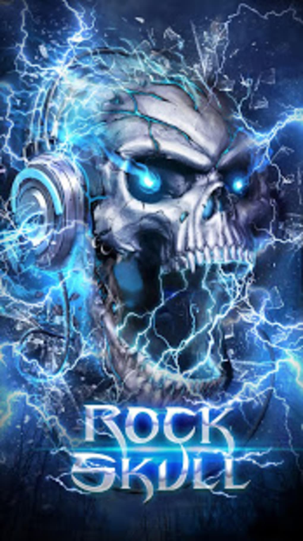 Electric Skull Live Wallpaper APK For Android Download