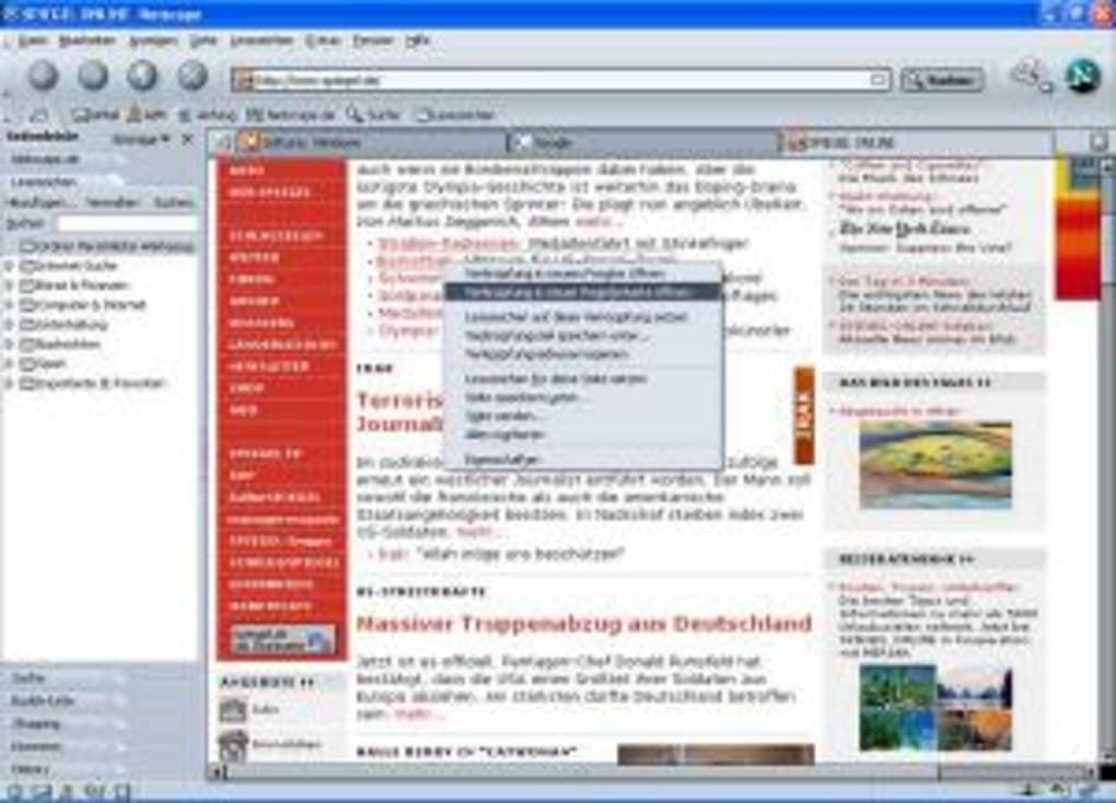 netscape 7.1 francais