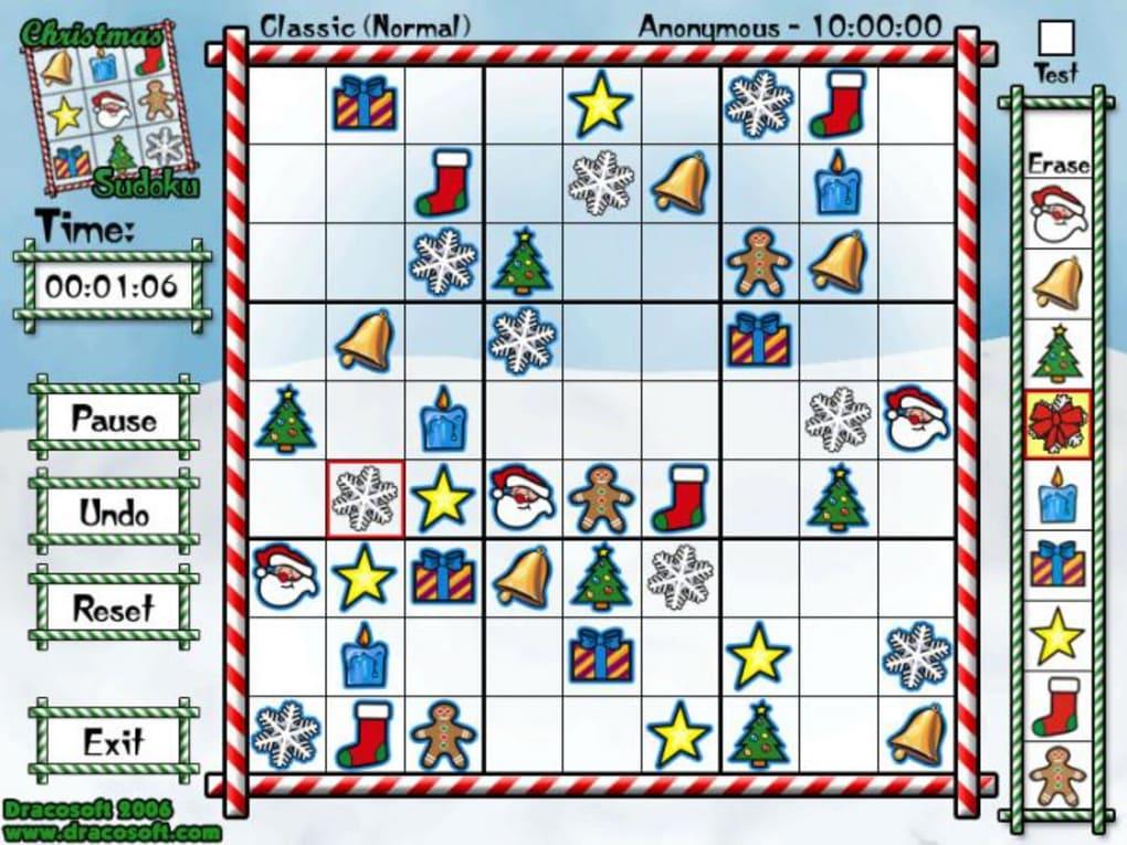 This is a photo of Ridiculous Christmas Sudoku Printable