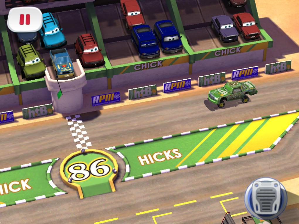 Cars Fast As Lightning App