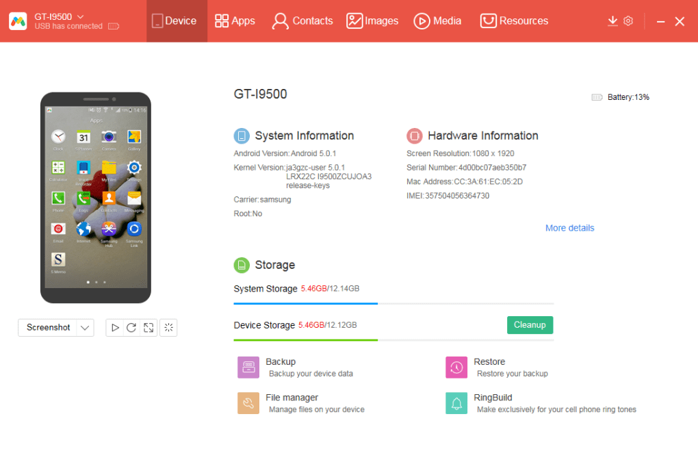 Android PC Sync Manager - Download