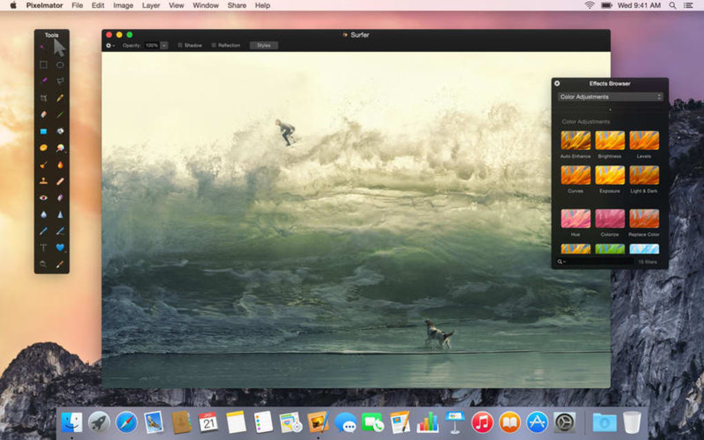 A beautiful and fast image editor