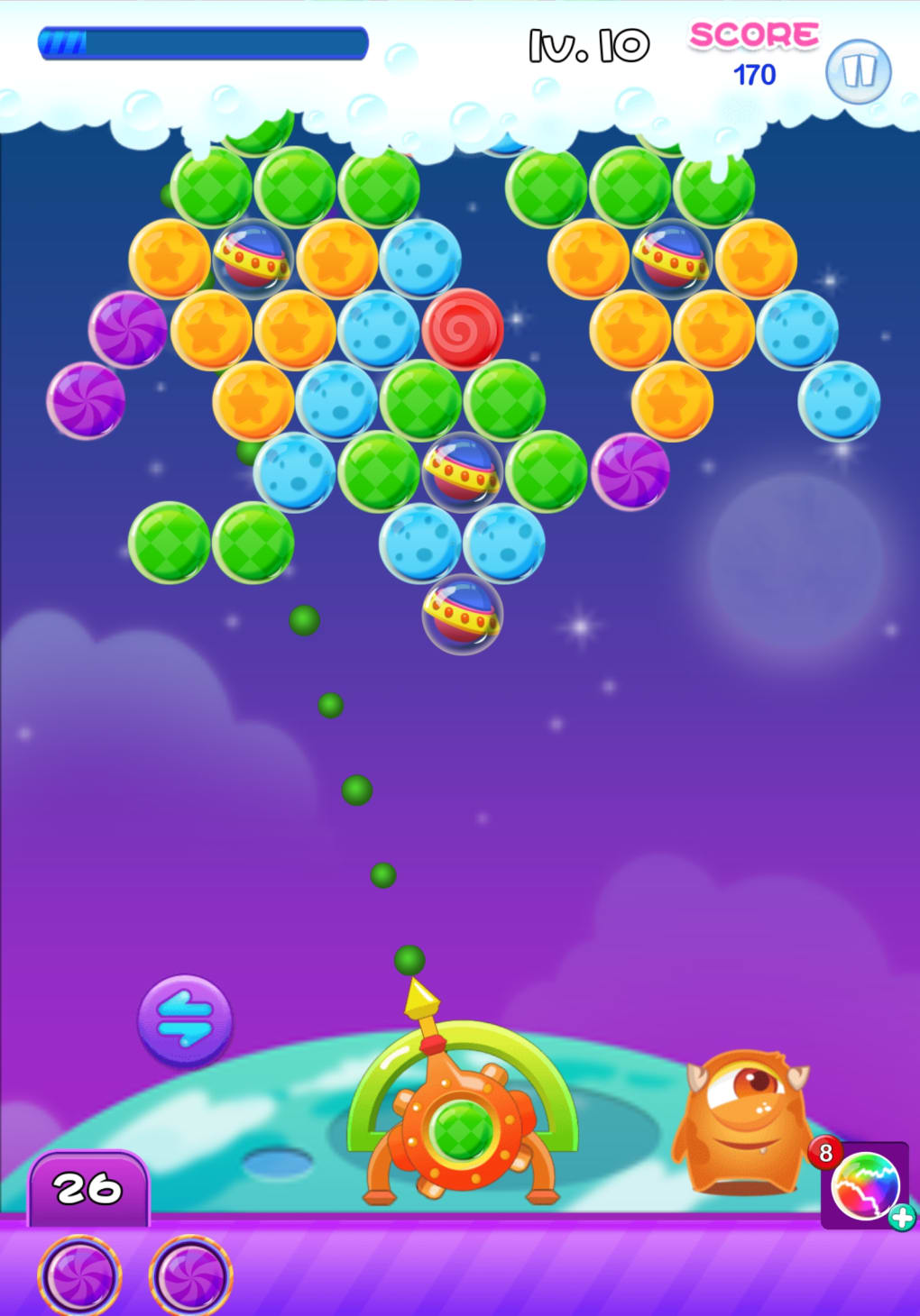 bubble shooter galaxy for android download. Black Bedroom Furniture Sets. Home Design Ideas
