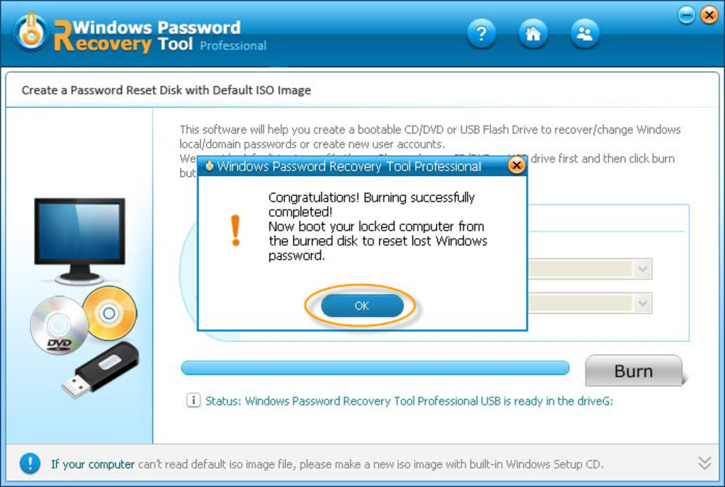Windows Password Recovery Tool Professional (Windows) - Download