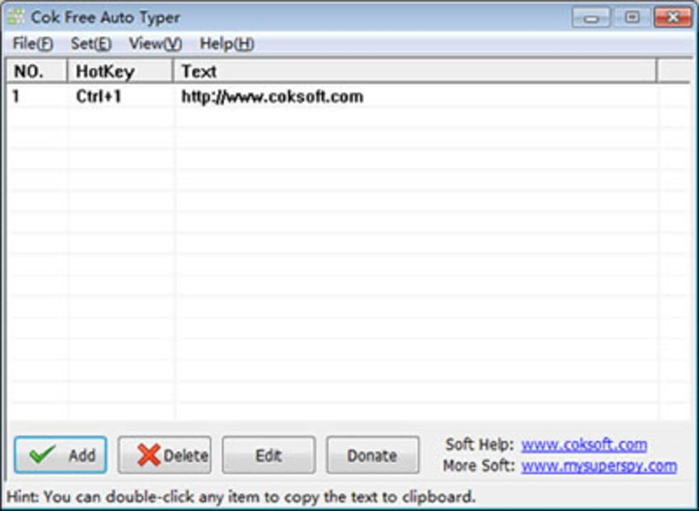 Cok Free Auto Typer - Download