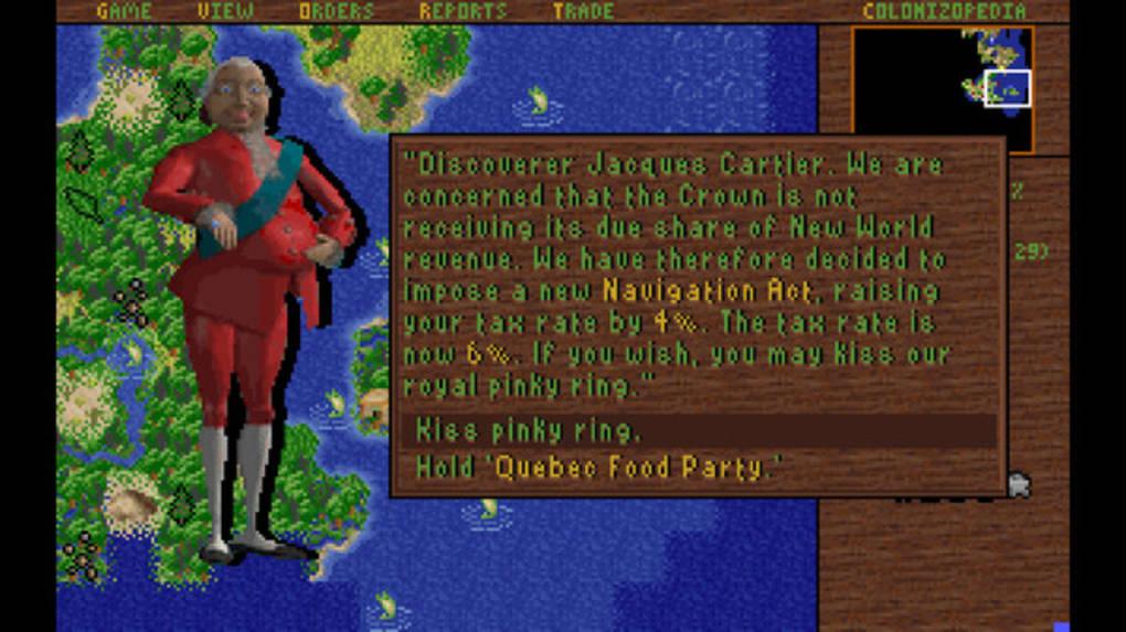 Sid Meier's Colonization (Classic) - Download