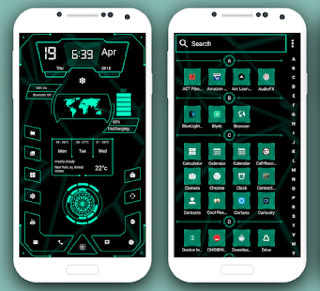 High Style Launcher 2019 - Theme Hi-tech for Android - Download